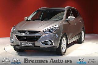 Hyundai ix35 2.0  Executive FIREHJULSTREKK/DAB+/Del skinn/AUT/Ryggek  2014, 54500 km, kr 259900,-