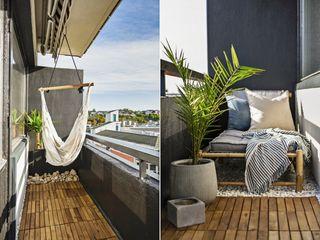 Lekkert oppusset 2-roms endeleilighet i 6. etg. med nydelig utsikt og balkong! Heis, dagligvarebutikk i bygget!