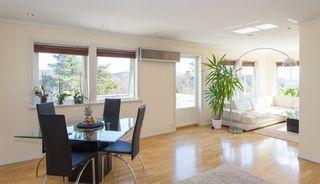 Flott leilighet på solrik tomt i Langåsen