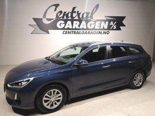 Hyundai i30 1.4  AUTOMAT/ BENSIN/ PLUSSPAKKE/ RYGGEKAMERA++  2018, 47190 km, kr 245000,-