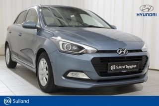 Hyundai i20 1,0 T-GDI GO! Ryggekamera, park.sensorer bak, oppv.ratt  2017, 32100 km, kr 149000,-