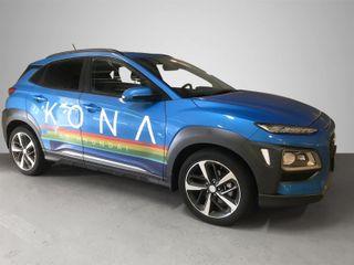 Hyundai Kona 1.6 T 177hk* AT*4X4*SKINN*TEKNIKK*NAVI*SOL* TOPPMOD*  2018, 19989 km, kr 375000,-
