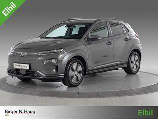 Hyundai Kona 64 kWt Teknikk Skinnseter / Headup display / Lav km /  2019, 2769 km, kr 409900,-