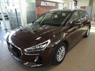 Hyundai i30 1,4 Turbo Aut Plusspakke Stv Navi Kamera Bi-Led ++  2018, 46000 km, kr 229000,-