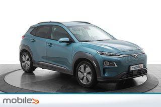 Hyundai Kona 64 kWt Teknikk Skinn, teknikkpakke  2019, 14500 km, kr 379000,-