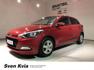 Hyundai i20 1.0 GO! 101 HK. NAVI, DAB+, R KAMERA, GARANTI!  2016, 26750 km, kr 129000,-