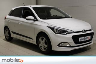 Hyundai i20 1,0 T-GDI Lang garanti og innbyttemuligheter  2016, 35644 km, kr 124000,-