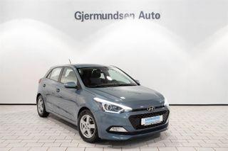 Hyundai i20 1.2  COMFORT, Psensorer,  Cruise, DAB++++  2015, 52500 km, kr 109900,-