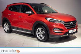 Hyundai Tucson 2,0 CRDi 4WD Panorama LED EKSTRALYS, SOLTAK, SKINN,  2016, 72454 km, kr 329000,-