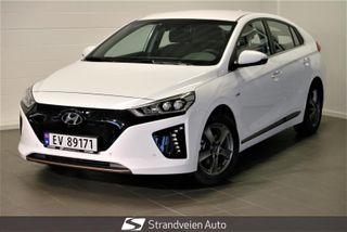 Hyundai Ioniq -Teknikk m skinn-Varmepumpe-Navigsjon-Ryggekamera-  2019, 4000 km, kr 279000,-