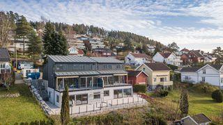 Borgeskogen Terrasse - 4 Andelsleiligheter - Vestvendt og solfylt, med utsikt over elva.