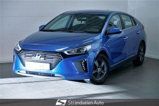 Hyundai Ioniq 1.6  HYBRID-Automat-Teknikkpakke-Stoffseter-Navigasjon  2017, 12500 km, kr 209000,-