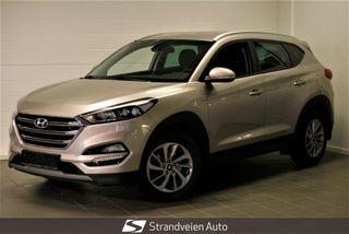 Hyundai Tucson 1.7 Teknikk Manuell-Stoffseter-Cruise kontroll-Navi  2016, 121500 km, kr 199000,-