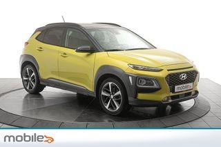Hyundai Kona 1,0 T-GDI Teknikkpakke Skinn, navigasjon, tøff bil  2018, 25980 km, kr 219000,-