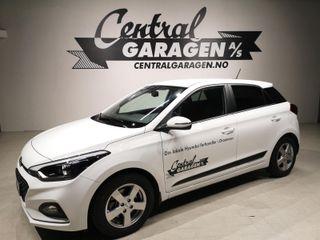 Hyundai i20 1.0  BENSIN/ TEKNIKKPAKKE/ LAV KM/ NAVI/ DAB/ GARANTI++  2019, 9000 km, kr 205000,-