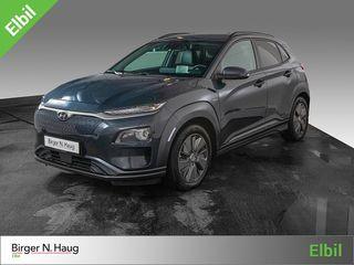 Hyundai Kona 64 kWt Teknikk Fornøydgaranti?  2018, 22000 km, kr 389900,-