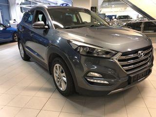 Hyundai Tucson 2.0 CRDi Plusspakke m/skinn  2017, 86900 km, kr 330253,-