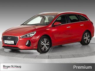 Hyundai i30 1,4 T-GDi Teknikkpakke aut LES DENNE ANNONSEN!!  2018, 42955 km, kr 244900,-