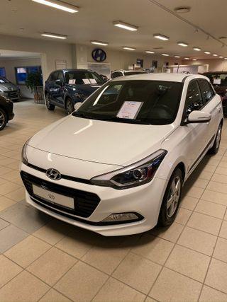 Hyundai i20 1,0T Go  2017, 34000 km, kr 159000,-