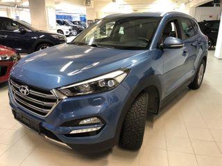 Hyundai Tucson 2.0 CRDi Plusspakke m/skinn  2017, 76700 km, kr 365253,-