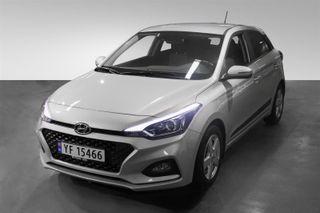 Hyundai i20 1.0  T-GDI - Automat - m/safety pack  2019, 6000 km, kr 239000,-