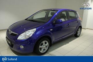Hyundai i20 1,2 Comfort  2010, 66500 km, kr 59900,-