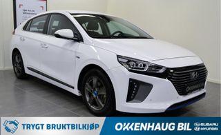 Hyundai Ioniq Plug-In, Adaptiv Cruise, Vintedekk, Varme i ratt, Navi +  2017, 32000 km, kr 234800,-