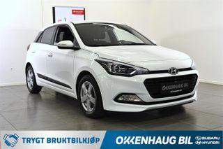 Hyundai i20 Lettkjørt/Innbytte/Ryggekamera/DAB+  2018, 45000 km, kr 149800,-