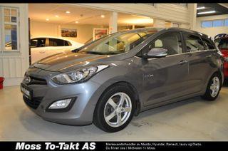 Hyundai i30 1,6 120hk Comfort stv , Permashine, DAB, Defa varmer,  2014, 122000 km, kr 109000,-