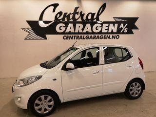 Hyundai i10 1.2  BENSIN/ AUTOMAT/ NYLIG EU-GODKJENT/ GARANTI++  2011, 91420 km, kr 85000,-