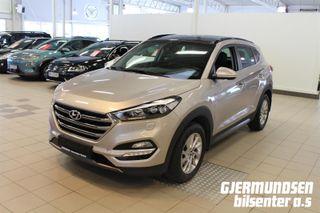 Hyundai Tucson 1.6T 177hk Panorama 4X4 ALT UTSTYR!  2016, 48000 km, kr 378775,-