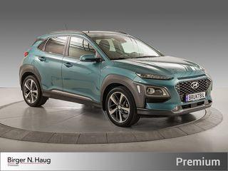 Hyundai Kona 1,0 T-GDI Teknikkpakke & Skinn - LAV KM - SKINN -  2017, 2015 km, kr 279900,-