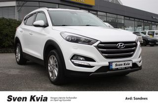 Hyundai Tucson 1.6  PLUSSPAKKE  Bensin 132 HK, Hengerfeste, Navi, DAB+  2016, 59900 km, kr 249000,-