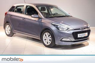 Hyundai i20 1,0 T-GDI Varme i ratt, Bluetooth, isofix  2016, 58870 km, kr 129900,-