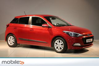Hyundai i20 1,0 T-GDI GO! Varme i ratt, Bluetooth, Navigasjon  2017, 60485 km, kr 157000,-