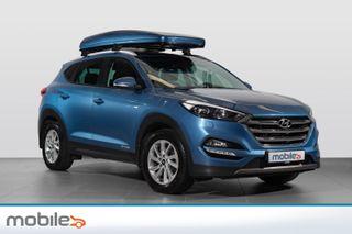 Hyundai Tucson 2.0CRDi 136HK-4X4-Aut-Plusspakke /lav km/takboks  2016, 28500 km, kr 359900,-