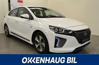 Hyundai Ioniq Plug-in, Varme i ratt, Navi, Skinn, S+ V dekk, Adaptiv C  2018, 178374 km, kr 279900,-