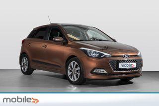 Hyundai i20 1,2 84hk Panorama  2015, 68000 km, kr 128900,-