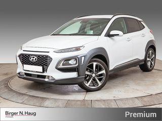 Hyundai Kona 1,0 T-GDI Teknikkpakke Navi - HeadUP - Skinn - Kamera  2018, 4000 km, kr 269000,-