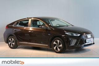 Hyundai Ioniq Teknikk HYBRID - Nybilgaranti med ubegrenset km - skinn  2017, 29109 km, kr 214900,-