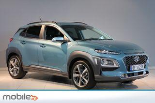 Hyundai Kona 1,0 T-GDI Teknikkpakke Skinn-Nybilgaranti TOPP UTSTYRT!  2018, 6000 km, kr 249000,-