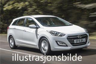 Hyundai i30 1.6  CRDI Automat LAV KM!  2015, 18000 km, kr 189000,-