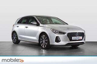 Hyundai i30 1,0 T-GDi Eco Plusspakke DAB+/kamera/navi/rattvarme  2018, 27500 km, kr 219900,-