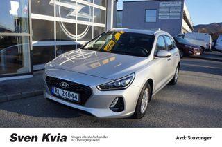 Hyundai i30 1.4  I30  2018, 2711 km, kr 319000,-