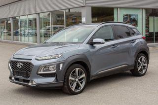 Hyundai Kona 1,0 T-GDi 120hk Teknikkpakke m/Skinn  2018, 5500 km, kr 268000,-