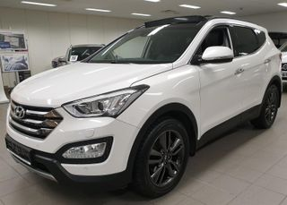 Hyundai Santa Fe 2.2 CRDi 197HK AUTOMAT 7 SETER PREMIUM OANORAMA SKINN  2015, 92600 km, kr 409900,-