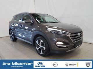 Hyundai Tucson 2.0  CRDi Teknikkpakke Skinn / Navi / Ryggekamera++  2018, 35270 km, kr 399000,-