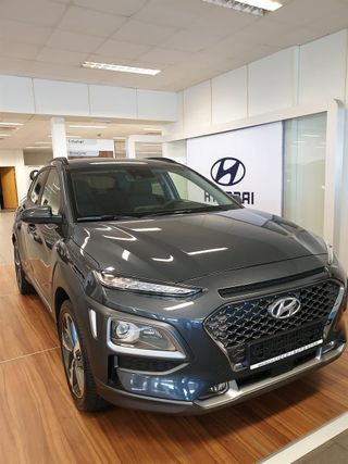 Hyundai Kona 1.0 TURBO GDI 120HK TEKNIKK MED SKINN  2019, 4000 km, kr 299000,-