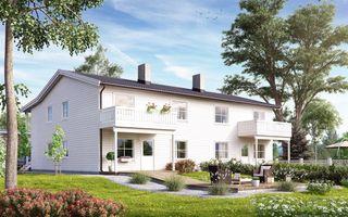 Prosjekterte leiligheter i 4-mannsbolig - Øygardsåsen