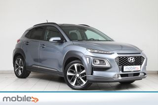 Hyundai Kona 1,0 T-GDI 120Hk Teknikk og Skinnpakke -Som Ny! -Må Sees  2018, 44382 km, kr 228900,-